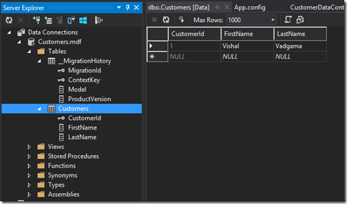 database-entity-framework