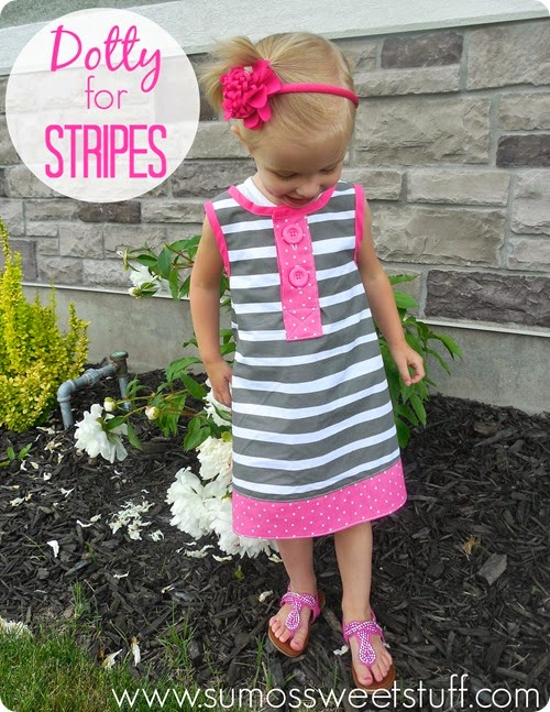 Dotty for Stripes Dress - SumosSweetStuff.com
