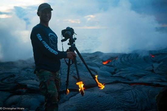 Fotógrafo de vulcões 02