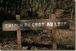 Chemin du Crot au Loup