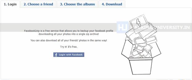 Facebook2zip.com