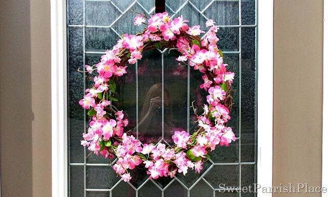 Cherry Blossom Wreath2