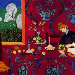 06.- Matisse. Armonía en rojo