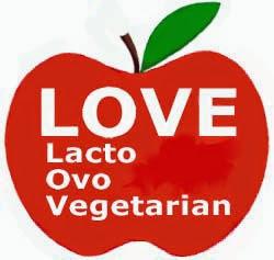 Love. Lacto Ovo Vegetarian grande nuovo (Nico Valerio 2014)