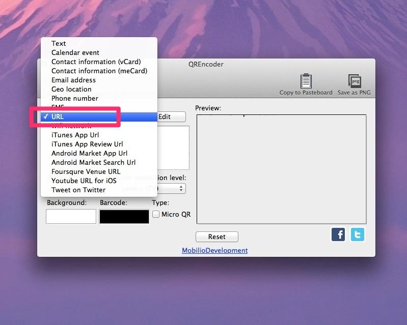 Mac QR Code soft9