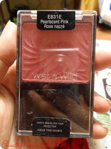 Priscilla Review Wet n Wild Blush on 3