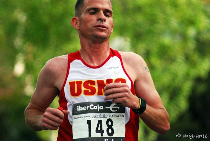 marcando ritmo - maraton - madrid
