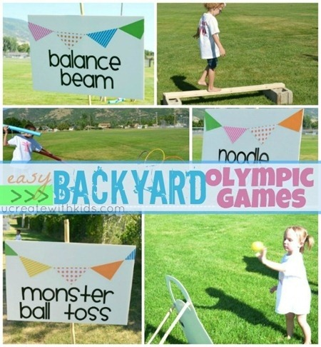 Backyard Olympic Games!
