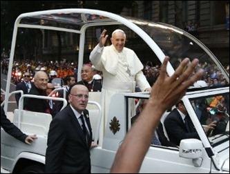 Papa Francisco no Rio