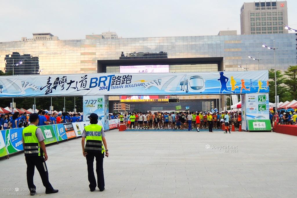 台灣大道 路跑 BRT