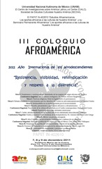 III Coloquio Afroamérica, Cartel provisional