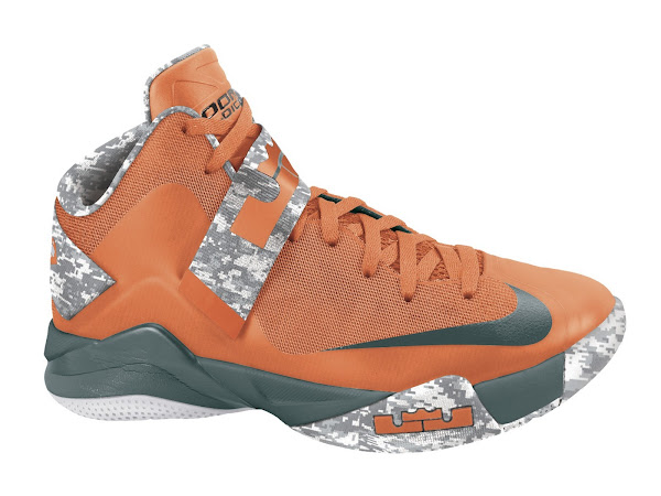 Soldier 6 OrangeHasta with Digi Camo Drops at Nikestore Europe