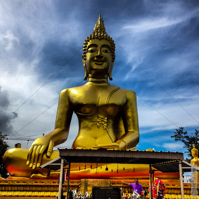 1. 2555. Таиланд. Патайя. Храм Будды. Thailand. Pattaya. Buddha temple.