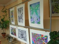Выставка детских работ в вестибюле
