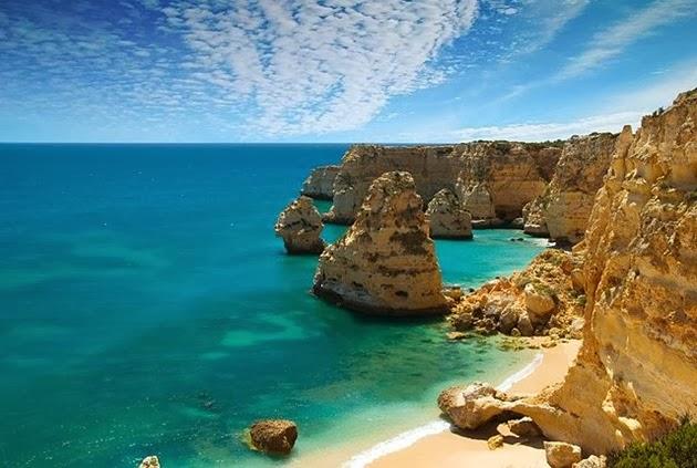 Portuguese beach Algarve