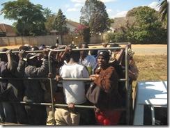 zimbabue transporte