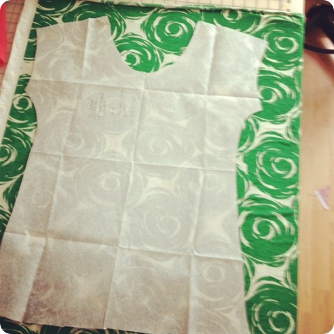 cap sleeve green top
