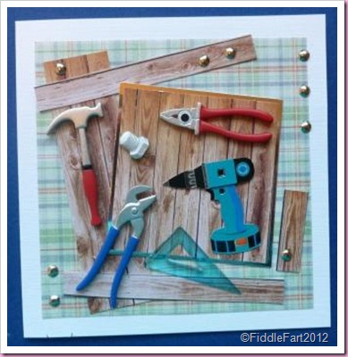 Tool Kit Birthday card Card for a man