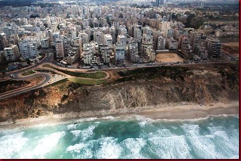 Negara Zionis Israel Dari Atas Langit