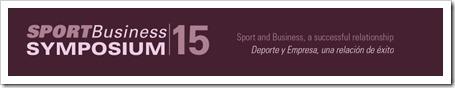 """INSCRIPCIONES Simposio Sport Business 24-25 abril 2015 en Lleida: """"Deporte y Empresa, una relación de éxito""""."""