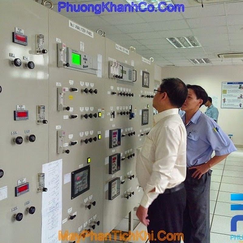 Hệ thống phân tích khí Servomex tại nhà máy Gas Việt Nhật – KCN Phú Mỹ