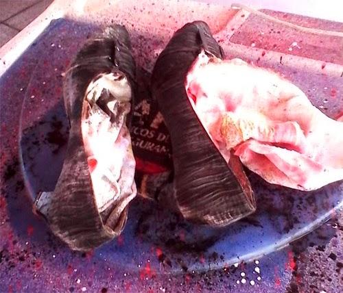 DIY customizando - como tingir sapato de tecido
