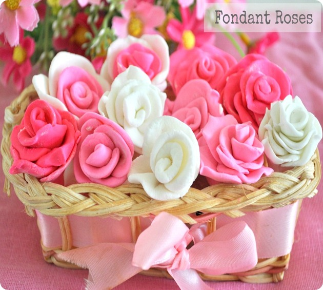 Decorate Cake With Marshmallow Fondant : How to make Fondant using Marshmallows Fondant Rose ...
