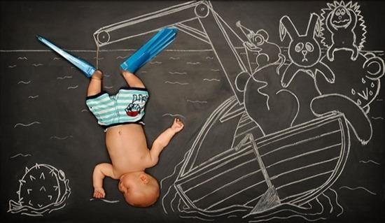Quadro e bebê (2)