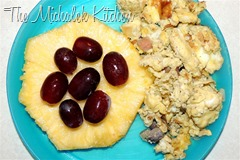 Eggs w Grapes-Pineapple