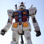 giant gundam robot in odaiba in Odaiba, Tokyo, Japan