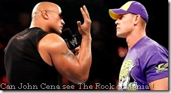 WM XXVIII Rock vs John Cena