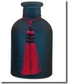 Glass Vase and Tassel