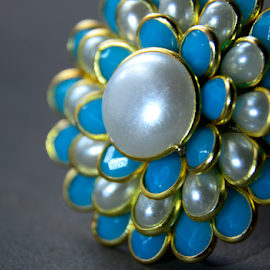 Pacchi Ring... by Subir Majumdar - Artistic Objects Jewelry ( ring, fashion, jewellery, pearls, colors, object )