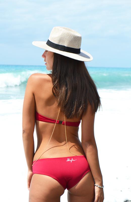 bikinilovers costume scollato fascia top calabria