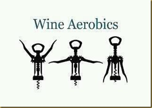 wine aerobics