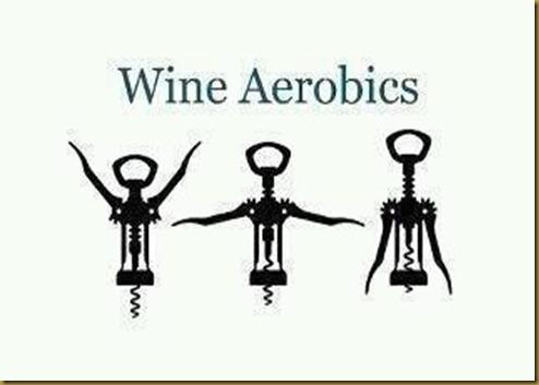 wine aerobics