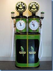 0951 Alberta Calgary - Heritage Park Historical Village - Gasoline Alley Museum - vintage Polly gasoline pumps