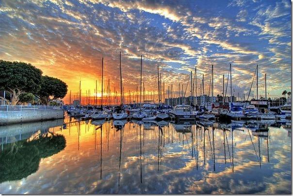 Lindas imagens do nascer do sol (5)