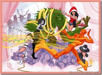 dc-comics-holiday-card