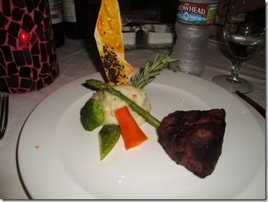 11.  Lorin's steak