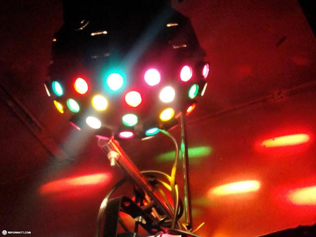 disco ball at gaspanic in roppongi tokyo in Roppongi, Tokyo, Japan