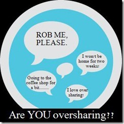 online oversharing