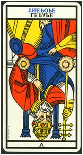 El Papa, Tarot de Marsella