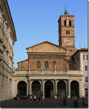 491px-Santa_Maria_in_Trastevere_front