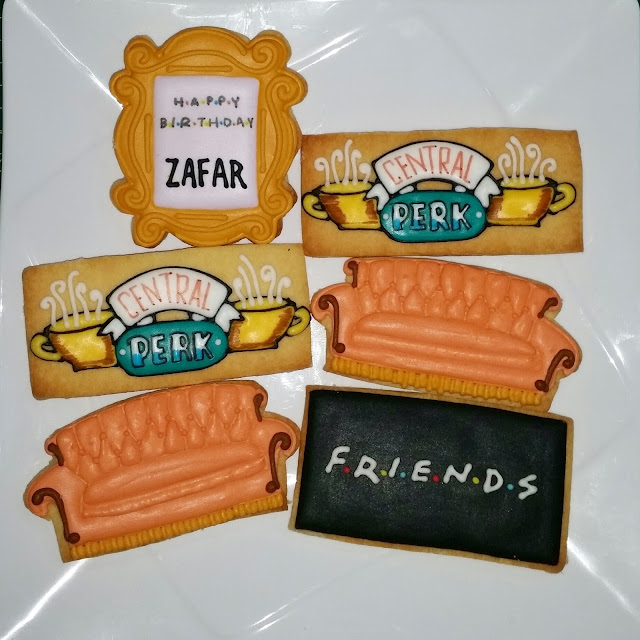 nbc friends theme cookies