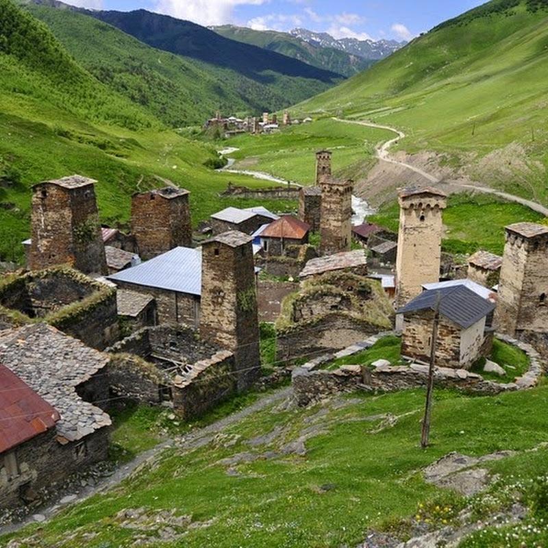 The Stone Towers Of Svaneti, Georgia