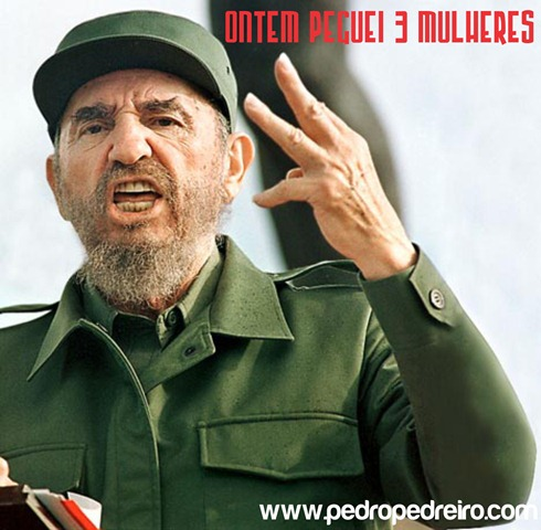 Fidel castro pedreiro