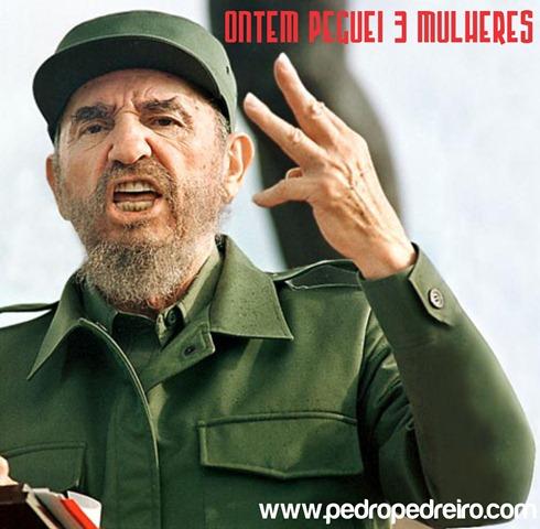 Fidel castro pedreiro