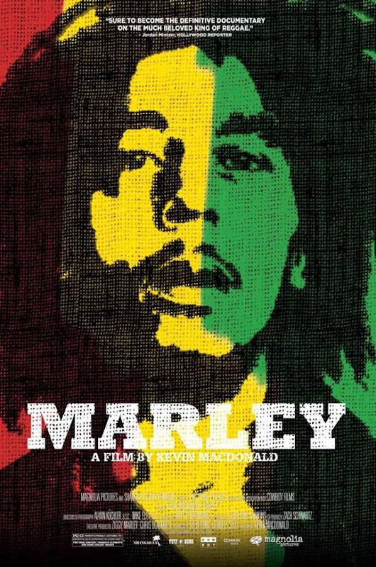 poster oficial do filme marley 2012