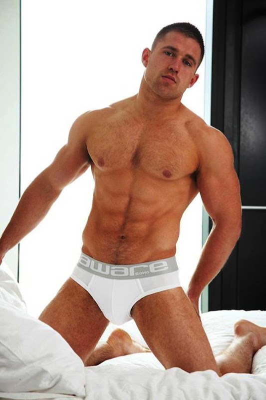 sexy guy for Alpha Male Undies